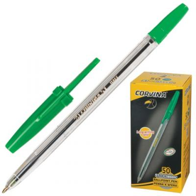 Фото - Шариковая ручка шариковая Corvina 40163/04 зеленый 0.7 мм шариковая ручка universal corvina wh t черный 41644 ч 41644 ч