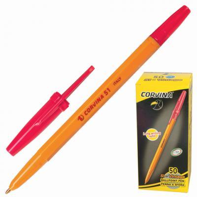 Фото - Шариковая ручка шариковая Corvina 40163/03G красный 0.7 мм шариковая ручка universal corvina wh t черный 41644 ч 41644 ч
