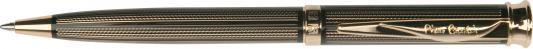 """Ручка подарочная шариковая PIERRE CARDIN (Пьер Карден) """"Tresor"""", корпус черный, латунь, золотистые детали, синяя, PC1001BP, PC1001BP-03G"""