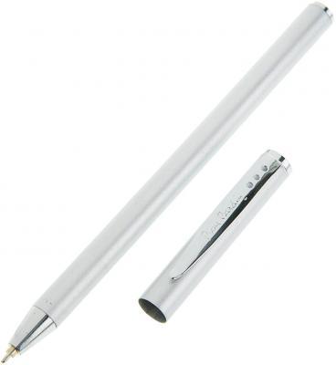 """Ручка подарочная шариковая PIERRE CARDIN """"Actuel"""", корпус серебряный, алюминий, хром, синяя, PC0701BP pierre cardin шариковая ручка pierre cardin actuel pc0553bp"""