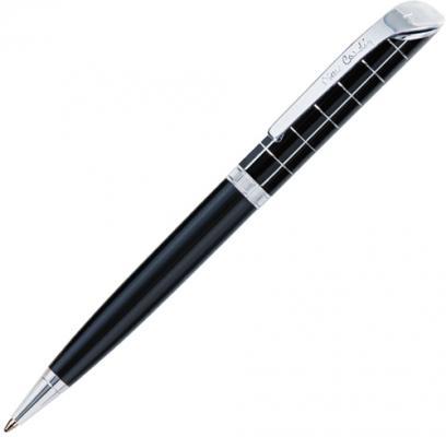 """Ручка подарочная шариковая PIERRE CARDIN (Пьер Карден) """"Gamme"""", корпус черный, акрил, хром, синяя, PC0874BP"""