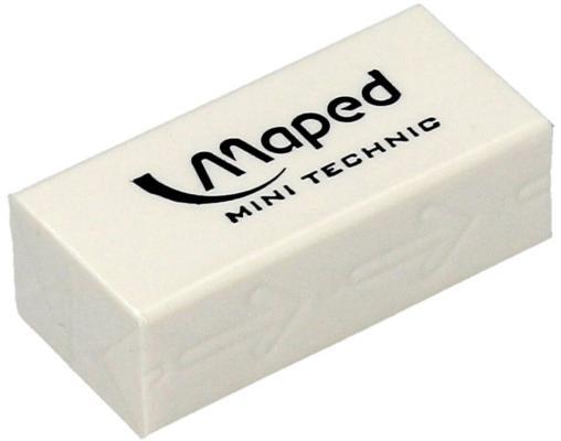 Резинка стирательная Maped Technic Mini 1 шт прямоугольный резинка стирательная maped essentials soft 13 1 шт прямоугольный