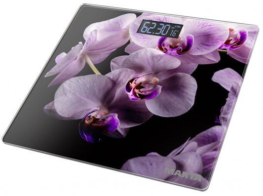 MARTA MT-1676 Весы напольные орхидея