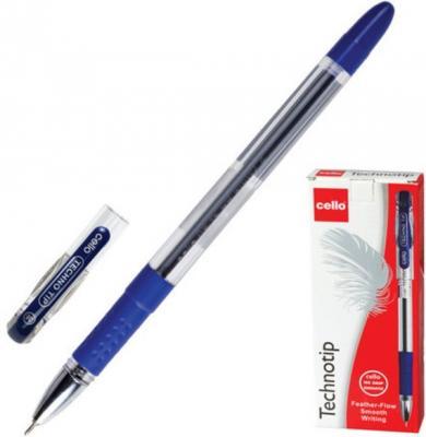 Ручка шариковая масляная Cello Technotip синий 0.4 мм ручка cello