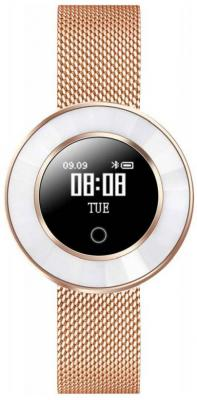"Смарт-часы Krez Tango 35мм 0.66"" OLED золотистый (SW25) цена и фото"