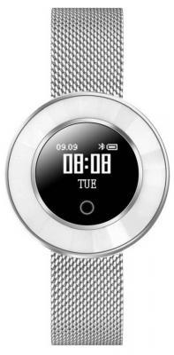 """Смарт-часы Krez Tango 35мм 0.66"""" OLED серебристый (SW23) цена и фото"""