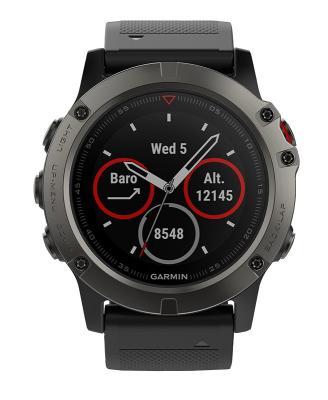 """Смарт-часы Garmin Fenix 5x 51мм 1.2"""" TFT черный (010-01733-01) все цены"""