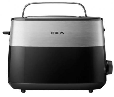 Тостер Philips HD2516 830Вт черный/стальной цена и фото
