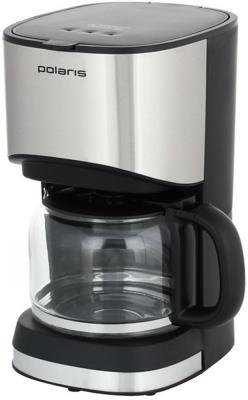Кофеварка капельная Polaris PCM 1215A 900Вт нержавеющая сталь/черный кофеварка эспрессо polaris pcm 1530ae adore cappuccino 1350вт нержавеющая сталь черный