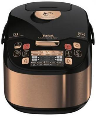 купить Мультиварка Tefal RK901F32 5л 750Вт бронзовый/черный дешево