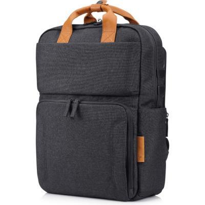 Рюкзак для ноутбука 15.6 HP Envy Urban полиэстер черный 3KJ72AA#ABB сумка для ноутбука 13 3 hp spectre red l zip sleeve 2hw35aa abb