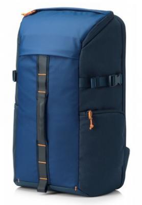 Рюкзак для ноутбука 15.6 HP Pavilion Tech синий 5EF00AA#ABB сумка для ноутбука 13 3 hp spectre red l zip sleeve 2hw35aa abb