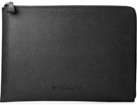 Фото - Чехол для ноутбука 13.3 HP Spectre Sleeve кожа замша черный 1PD69AA#ABB сумка для ноутбука 14 hp spectre slim topload 1pd70aa замша полиуретан сплит кожа черный серый