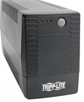 Источник бесперебойного питания Tripplite OMNIVSX650D 650VA Черный источник бесперебойного питания tripplite smartpro smx1000lcd