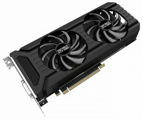 Видеокарта 8192Mb Palit GeForce GTX 1080 NEB1080U15P2-1045D PCI-E 256 Bit Retail БУ