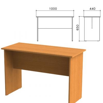 Стол приставной Фея, 1000х440х650 мм, цвет орех милан, СФ04.5 цена