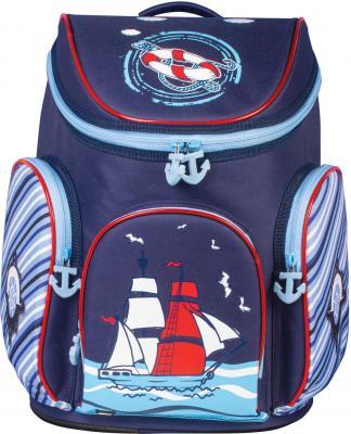 Ранец BRAUBERG Корабль 14 л разноцветный рисунок школьные рюкзаки brauberg ранец динозавр 17 л