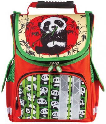 """Ранец жесткокаркасный BRAUBERG для учениц начальной школы, """"Панда"""", 34х26х16 см, 226908 цена и фото"""