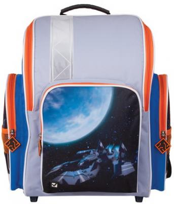 Ранец светоотражающие материалы BRAUBERG Космолет 18 л мультиколор школьные рюкзаки brauberg ранец динозавр 17 л