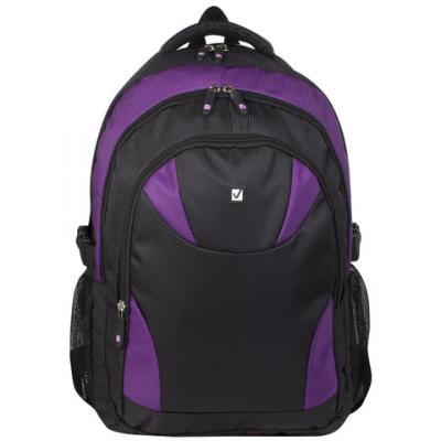 Рюкзак ручка для переноски BRAUBERG Пурпур 24 л фиолетовый черный 226379 brauberg рюкзак пурпур цвет черный фуксия