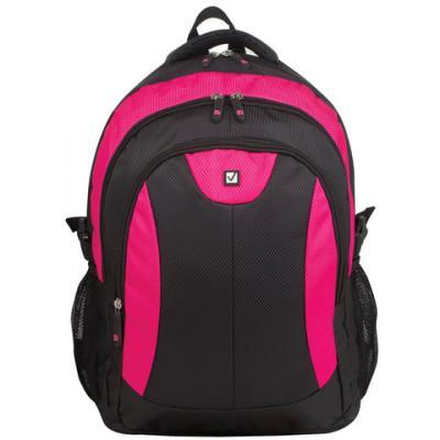 Рюкзак ручка для переноски BRAUBERG Пинк 24 л розовый черный brauberg brauberg рюкзак корал розовый