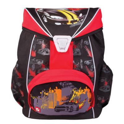 Рюкзак ортопедический BRAUBERG Спорткар 20 л черный красный brauberg рюкзак пурпур цвет черный фуксия
