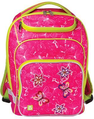 Рюкзак ручка для переноски BRAUBERG Рюкзак BRAUBERG для учениц начальной школы 15 л розовый brauberg brauberg ортопедический школьный рюкзак easylock спорткар