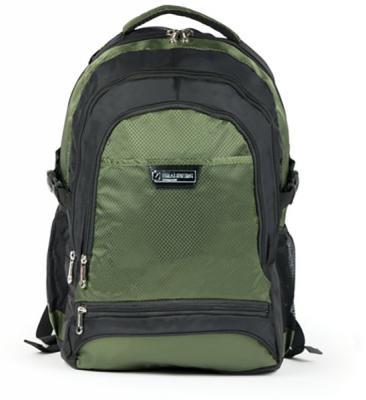 Купить Рюкзак ручка для переноски BRAUBERG Рюкзак для школы и офиса BRAUBERG StreetRacer 1 30 л черный зеленый, черный, зеленый, полиэстер, Ранцы, рюкзаки и сумки
