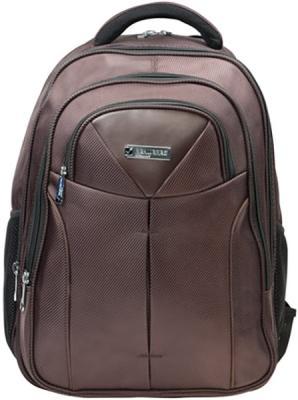 Купить Рюкзак ручка для переноски BRAUBERG Рюкзак для школы и офиса BRAUBERG Toff 32 л коричневый, полиэстер, Ранцы, рюкзаки и сумки