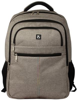 Купить Рюкзак ручка для переноски BRAUBERG Рюкзак BRAUBERG универсальный с отделением для ноутбука 32 л серый, полиэстер, Детские рюкзачки