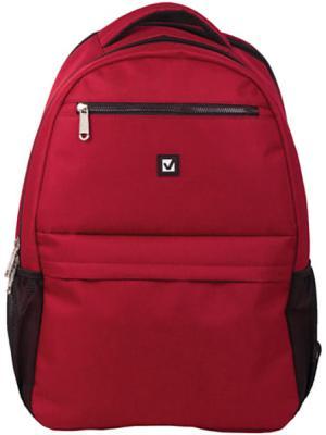 Купить Рюкзак ручка для переноски BRAUBERG Рюкзак BRAUBERG универсальный с отделением для ноутбука 29 л красный, полиэстер, Детские рюкзачки