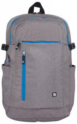 Рюкзак ручка для переноски BRAUBERG Рюкзак BRAUBERG универсальный с отделением для ноутбука Сиэтл 29 л серый brauberg brauberg рюкзак сиэтл с отделением для ноутбука