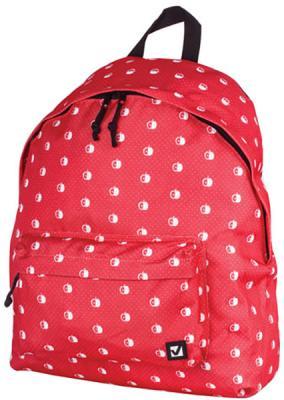 Рюкзак ручка для переноски BRAUBERG Рюкзак BRAUBERG универсальный 23 л красный