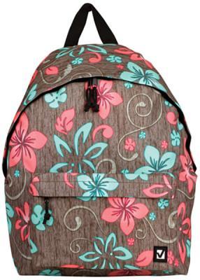 Рюкзак ручка для переноски BRAUBERG Рюкзак BRAUBERG универсальный Мята 20 л мультиколор brauberg brauberg ортопедический школьный рюкзак easylock спорткар