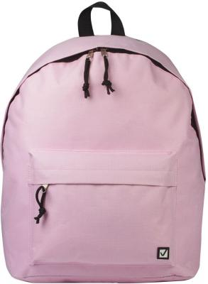 Рюкзак BRAUBERG универсальный, сити-формат, розовый, 38х28х12 см, 227051 brauberg brauberg рюкзак корал розовый