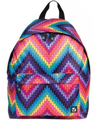 Рюкзак BRAUBERG, универсальный, сити-формат, разноцветный, Регги, 20 литров, 41х32х14 см, 225369 рюкзак evoc evoc park разноцветный 25л