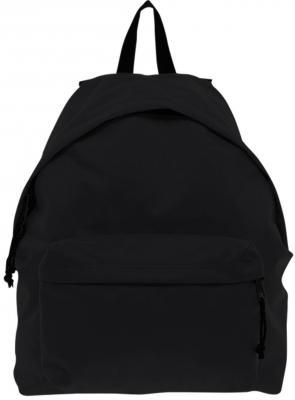 Рюкзак BRAUBERG, универсальный, сити-формат, один тон, черный, 20 литров, 41х32х14 см, 225381 brauberg рюкзак пурпур цвет черный фуксия