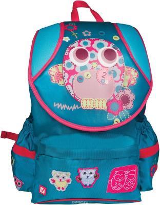 Купить Рюкзак BRAUBERG для учениц, ортопедический, экстралегкий, евроформат, Филин , 15 литров, 38х26х16 см, 226330, голубой, рисунок, полиэстер, полипропилен, Ранцы, рюкзаки и сумки