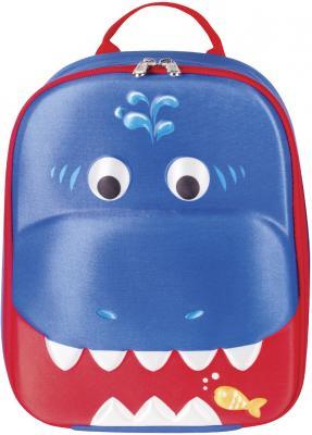 Рюкзак ручка для переноски BRAUBERG Акула синий рисунок brauberg brauberg рюкзак кантри синий