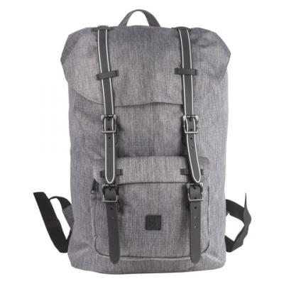 Рюкзак с отделением для ноутбука BRAUBERG Кантри 20 л серый цена
