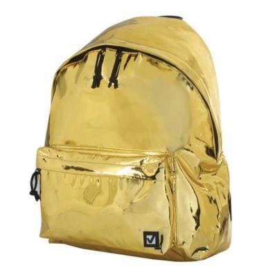 Рюкзак BRAUBERG Винтаж 20 л золотистый цена и фото