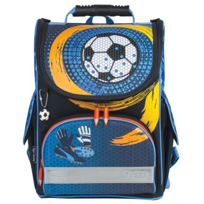 Купить Ранец светоотражающие материалы Tiger Family Spinning Goal 13 л синий, пенополиуретан, Школьные ранцы