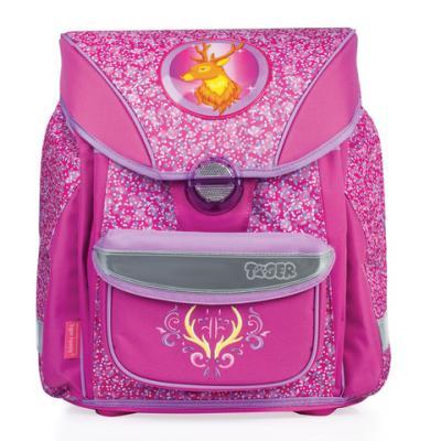 Ранец светоотражающие материалы Tiger Family Олень 20 л розовый цена и фото