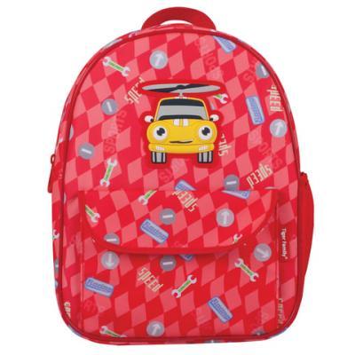 Рюкзак с усиленной спинкой Tiger Family Машинка 4 л красный