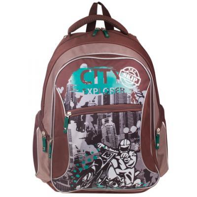 Купить Рюкзак с усиленной спинкой Erich Krause 39333 21 л мультиколор, прорезиненная ткань, EVA, Ранцы, рюкзаки и сумки