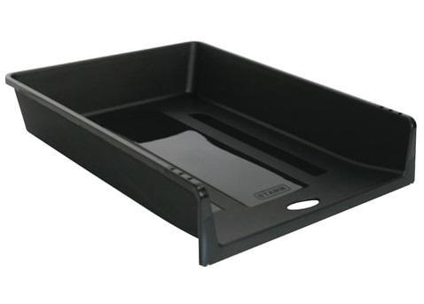 Фото - Лоток горизонтальный для бумаг СТАММ 1 в 1, черный, ЛТ152 лоток для бумаг горизонтальный черный лт152