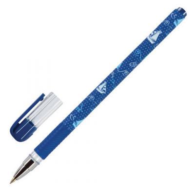 Ручка шариковая шариковая Bruno Visconti Кораблики синий 0.3 мм