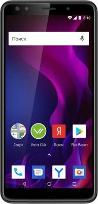 Смартфон Vertex Impress Zeon (4G), графит мобильный телефон vertex impress disco графит