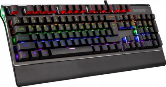 Клавиатура проводная Harper GKB-P101 USB черный gkb 95