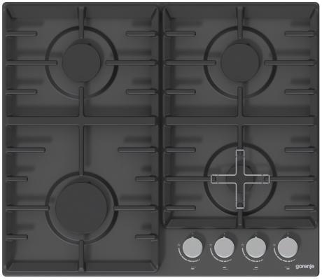 лучшая цена Газовая варочная поверхность Gorenje G641AMB черный
